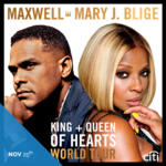 Soul music singers Maxwell, Mary J. Blige sing to the tune of $1 million in Atlanta