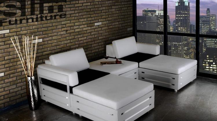 Charmant Slim Furniture Sells A Line Of Modular Portable Furniture That Can Be  Assembled Without Tools.