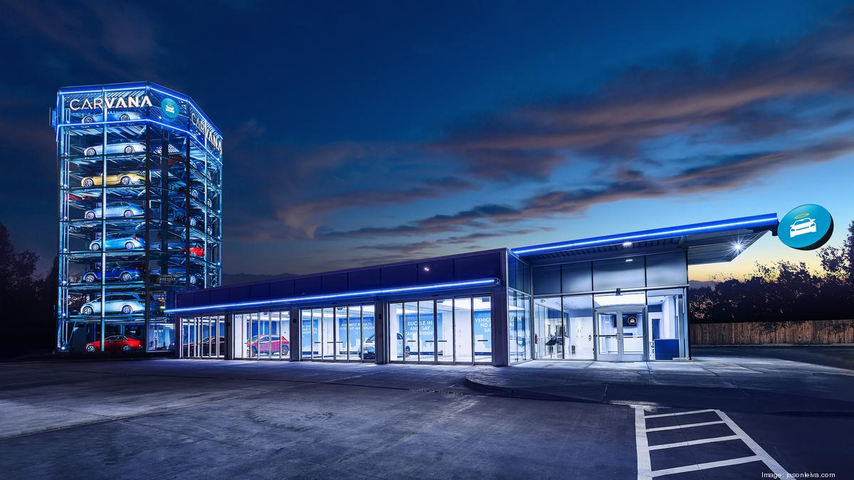 Used Cars Phoenix >> Carvana, the car vending machine, cranks out cars for sale ...