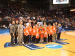 Local students take to the basketball court, learn about STEM at NCAA First Four