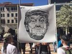 Photos: Tech workers protest Trump, immigration policies at Palo Alto rally