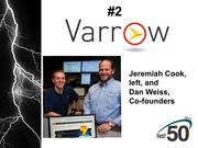 Greensboro-based Varrow provides technology solutions through advanced consulting and design services. Their 2012 revenue was $83.6 million.