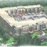 How much did Hawthorne group pay for Friendly Center Apartments property?