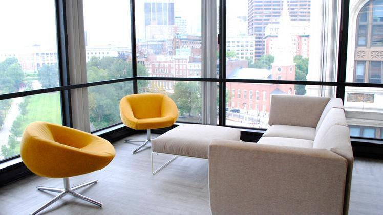 Flywire's office in downtown Boston.