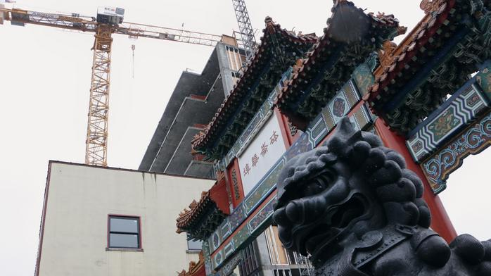 Grove Hotel, which will likely have a Kurt Huffman restaurant, tops out in Old Town Chinatown (Photos)