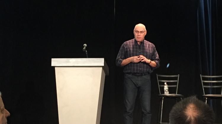 GE Digital's chief technology officer Harel Kodesh speaks at MIT's Connected Things 2017 conference.