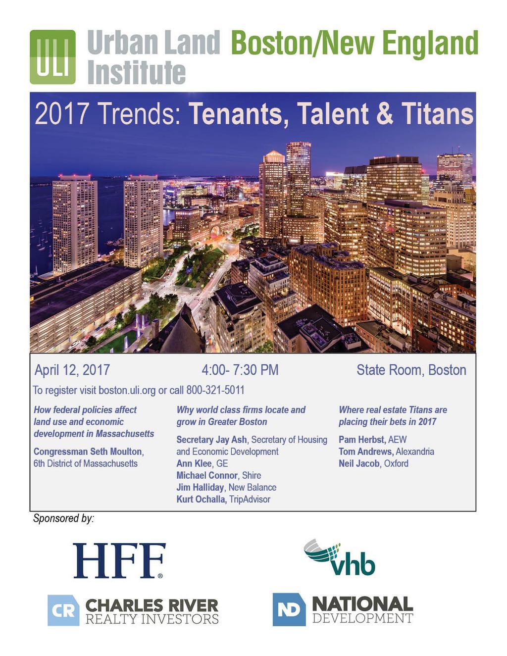 2017 Trends: Tenants, Talent & Titans