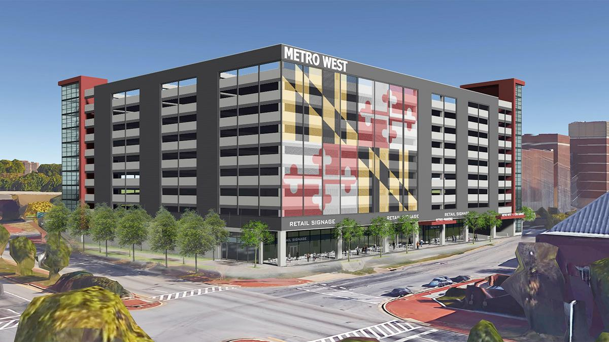 Metro Westu0027s Massive Parking Garage Design Rejected By City Panel    Baltimore Business Journal