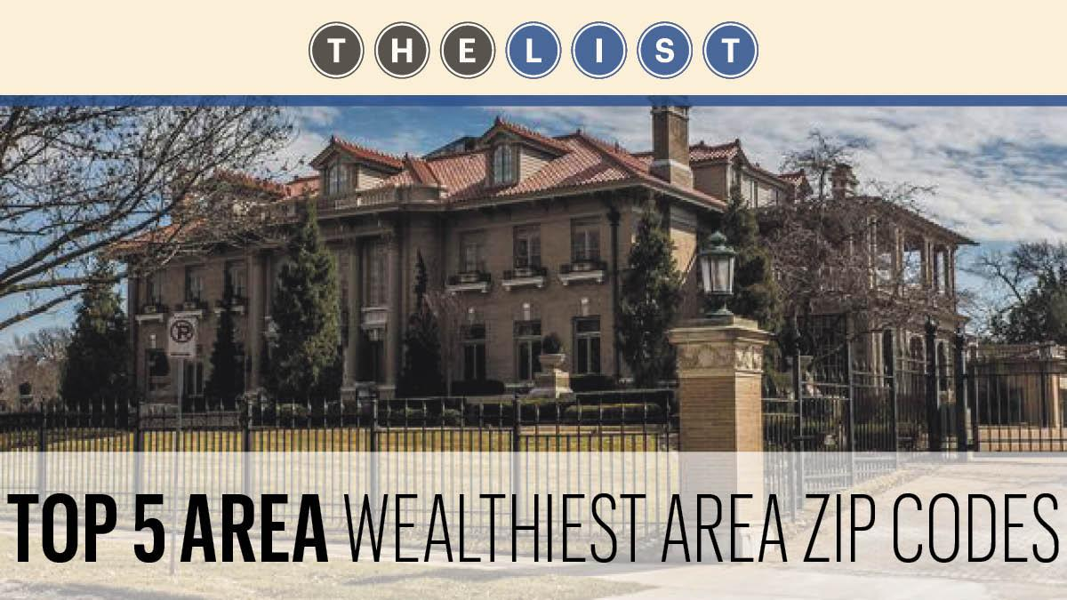 Kansas Citys Wealthiest ZIP Codes Kansas City Business Journal - Us zip codes ranked by income