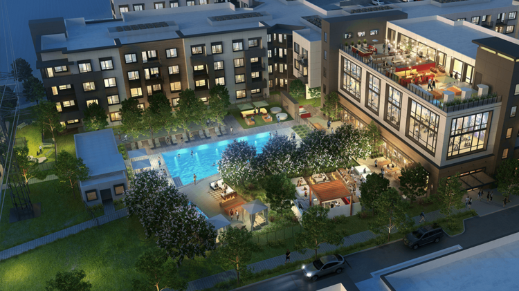 Hundreds of new apartments hit the market in menlo park for Koi pond builders tampa