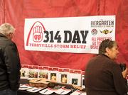 The Biergarten at Anheuser-Busch held a fundraiser to raise money for Perryville tornado victims and first responders.