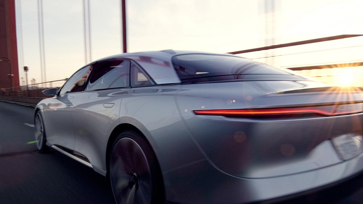 Tesla Inc  rival Lucid Motors approached Ford Motor Co  about