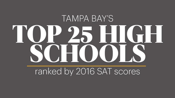 Tampa Bay area high schools ranked by SAT scores