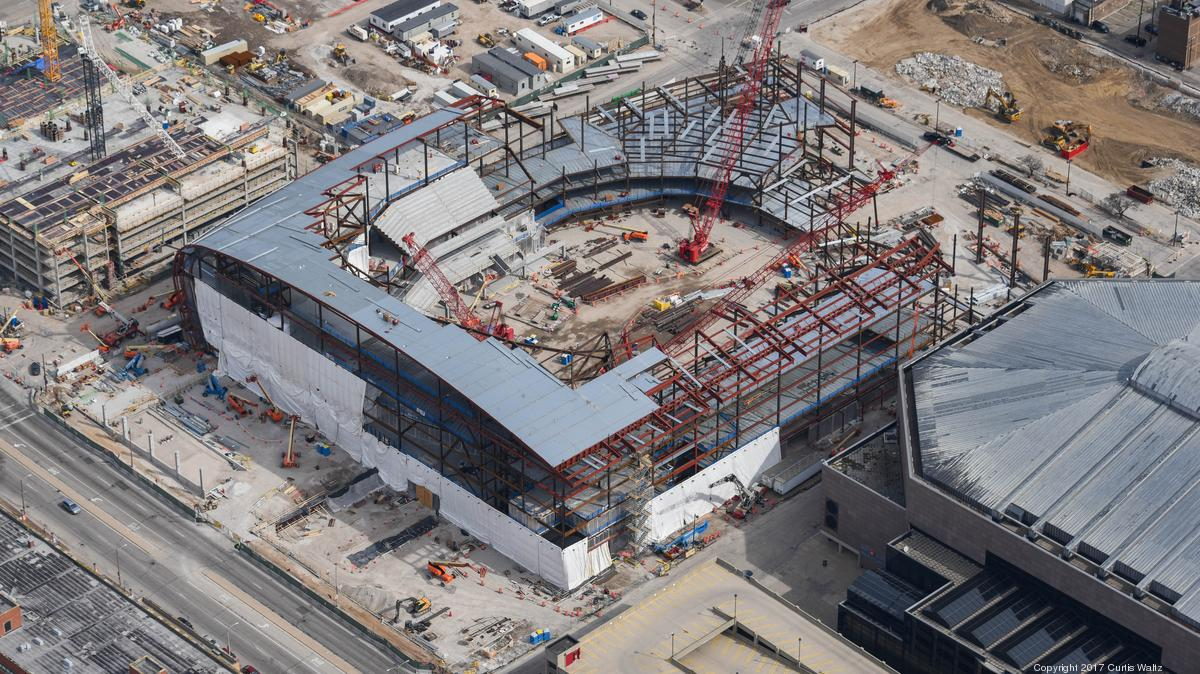 See latest progress on Milwaukee Bucks' new arena from the ...