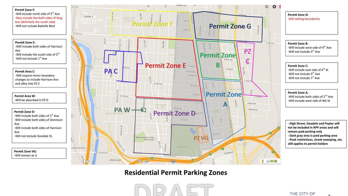 Short North parking fixes proposed by Columbus leading to confusion