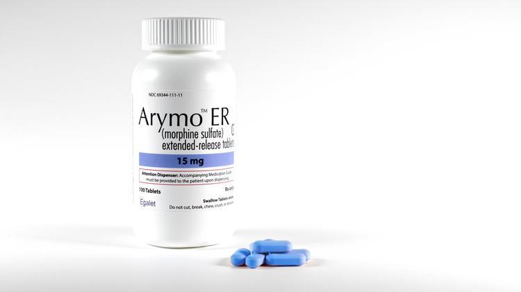 Egalet's Arymo ER tablets