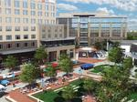 Hilton Garden Inn at Waverly in south Charlotte tops out