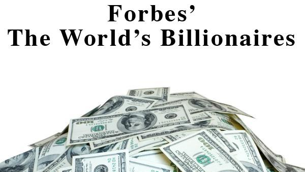 Image result for forbes list of billionaires 2017