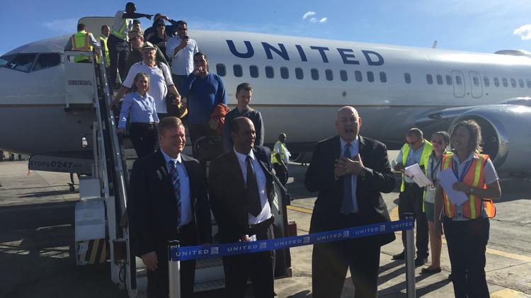 Resultado de imagen para United Airlines Cuba