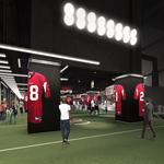 First Look: 100 Yard Club at Mercedes-Benz Stadium (SLIDESHOW)