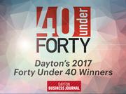 The Dayton Business Journal has named this year's class of Forty Under 40. See who will be honored in 2017.