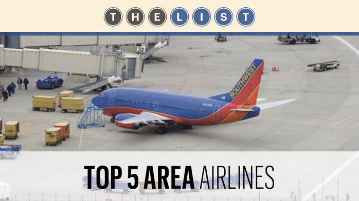 Top of the List: Airlines