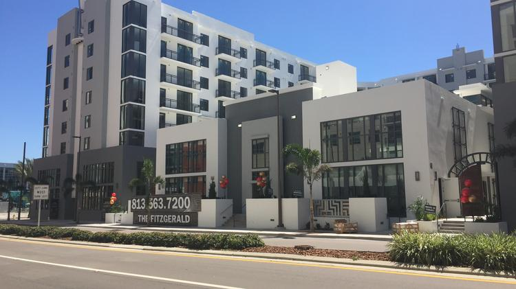 Fitzgerald Apartments Open In Downtown Tampa 39 S Channel
