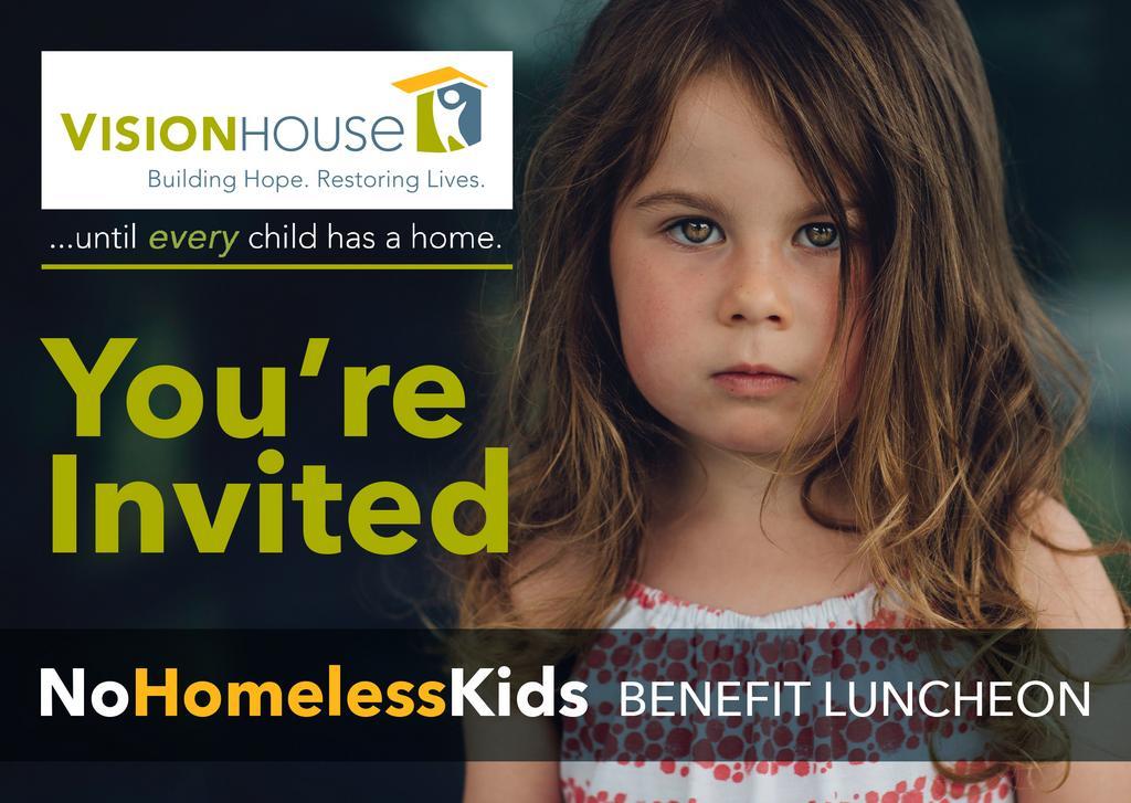 NoHomelessKids Benefit Luncheon