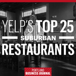 Here are the Portland suburbs' top 25 Yelp-rated restaurants