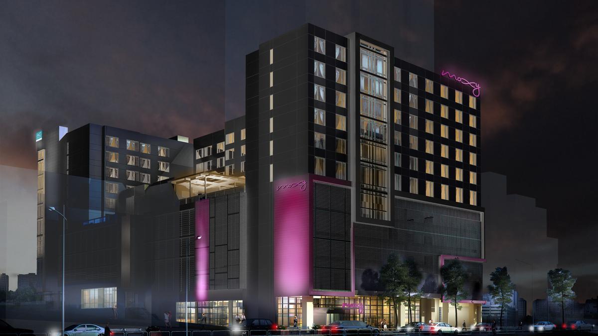 Noble Breaks Ground On Dual Branded Ac Moxy Hotel In