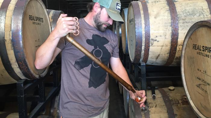 Davin Topel has been hired as distiller at Real Ale Brewing Co. The Blanco company is known for its craft beer but is now venturing into harder alcohol, but only on a limited basis.