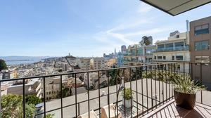 Exceptional Russian Hill Home Atop San Francisco's Famed Crooked Street