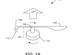 Amazon patents single-blade drone propellers to save energy during flight (Images)