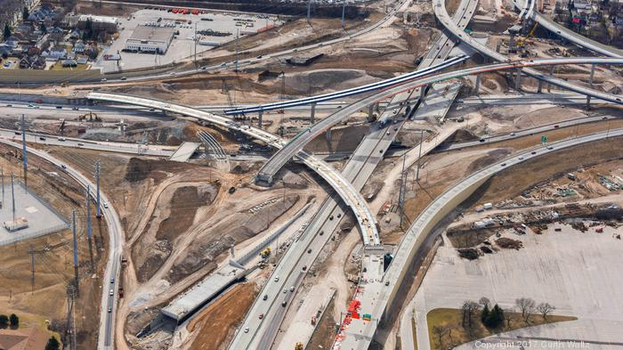 Zoo Interchange work continues, with new ramp openings planned by Memorial Day: Slideshow