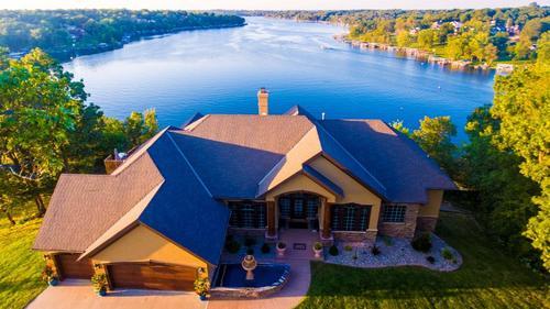 Lake Lotawana Estate on 1.5 Acres!