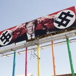 Controversial Grand Avenue billboard to stay up through Trump presidency, owner says
