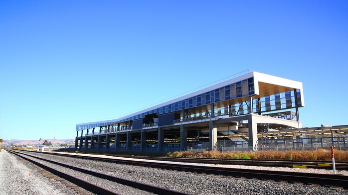 First look at BART's new Warm Springs station, opening this weekend