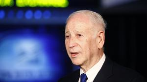 Phillip Frost, billionaire and chairman of Teva Pharmaceutical Industries Ltd., speaks during a Bloomberg Television interview at the Tel Aviv Stock Exchange in Tel Aviv, Israel, on Wednesday, Aug. 21, 2013. Frost was at the Tel Aviv Stock Exchange to mar
