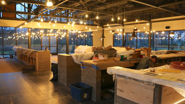 An early look at the new location of celebrated Atlanta restaurant Bacchanalia and the gourmet market Star Provisions