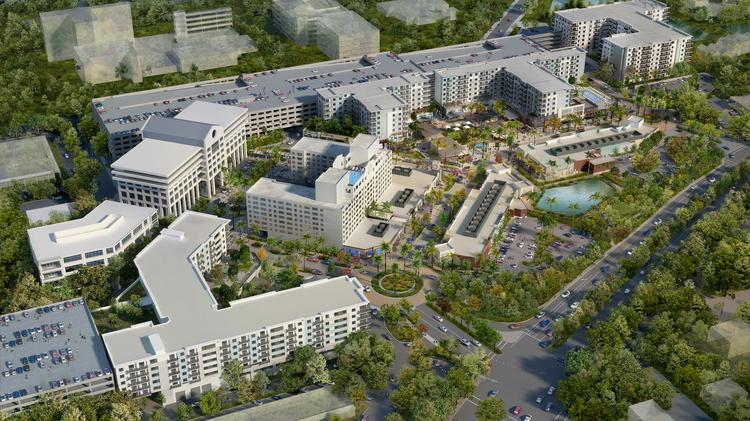 The Plantation Walk site in Plantation would be redeveloped into open-air retail, apartments and office space.