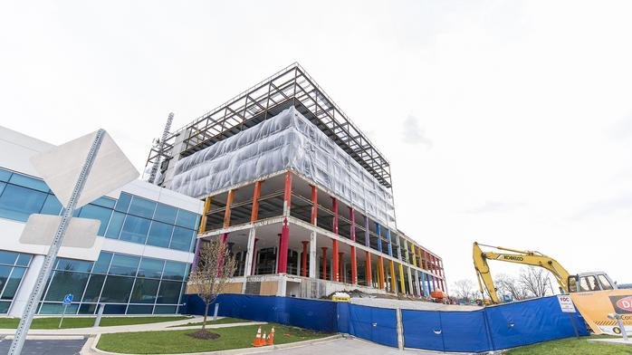 Cincinnati's 1st Dolce Hotel tops out, gets a new name: PHOTOS