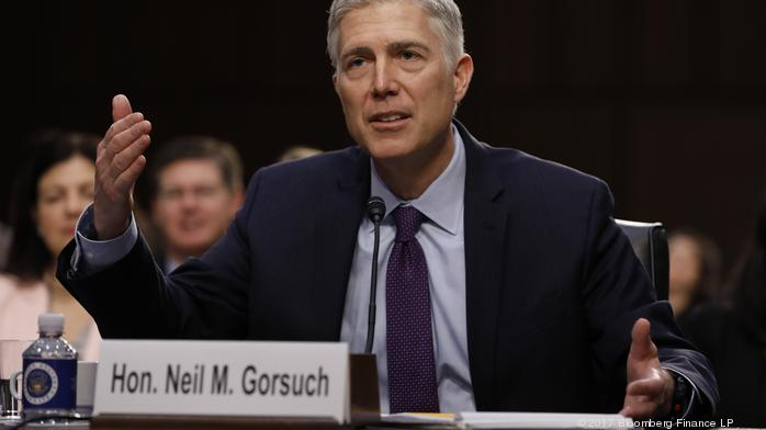 Law: Gorsuch unflappable during first day of questioning