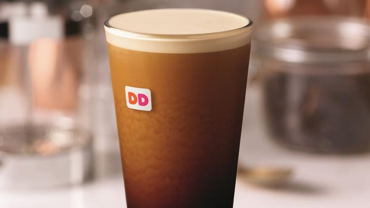 Dunkin Donuts Testing Nitrogen Infused Cold Coffee Taking