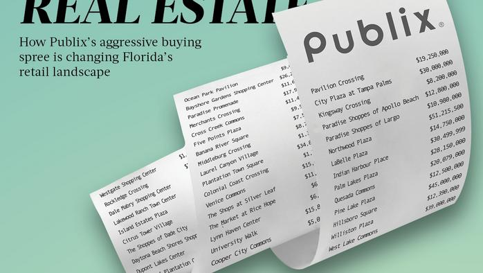 Publix's aggressive property-buying spree is changing Florida's retail landscape