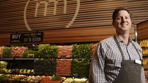 Metropolitan Market CEO and President Todd Korman is pictured at the new Metropolitan Market in Sammamish, Washington on March 21, 2017.