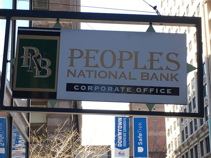 Small bank accuses Peoples National of fraud and racketeering