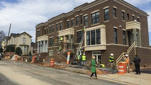 Downtown Raleigh brownstones developer talks sales, YMCA benefit (Photos)