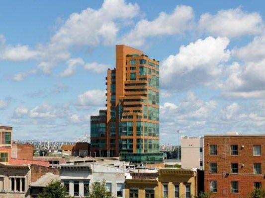 Imagine Thunder Over Louisville from this Spectacular Furnished Waterfront Park Place Condo!
