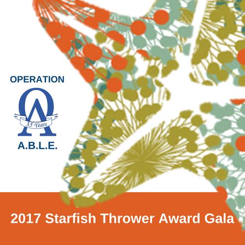 2017 Starfish Thrower Award Gala - Honoree Eric H. Schultz, May 8th, Seaport Boston Hotel Plaza Ballroom, Susan Wornick Emcee