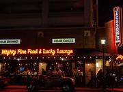 Jackson's Mighty Fine Food & Lucky Lounge at Reston Town Center is suing Boston Properties, the center's owner.